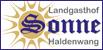 Logo Landgasthof Sonne Haldenwang
